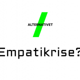 Hvem omfatter alternativets empati, når det kommer til stykket? Illustration øverst: Alternativets logo
