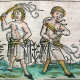 Flagellanter. Illustration fra Middelalderen. Public Domain